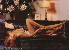 POSTER: AUGUST by GEOFF HOWES  - SEXY FEMALE MODEL - FREE SHIP #01-008  LC11 L