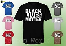 BLACK LIVES MATTER - Unisex T-shirts Civil Rights Equality Tee Clothes