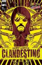 CLANDESTINO 1 RARE COMICXPOSURE NYCC VARIANT NEW YORK COMIC CON BLACK MASK