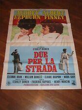 MANIFESTO,1967,Due per la strada Two for the Road,Audrey Hepburn Albert Finney