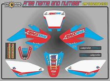 HONDA CRF100 CRF80 DECALS GRAPHICS STICKERS GEICO CRF 100 2004-2010