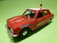 POLISTIL 1:26   PEUGEOT 504  TOUR DE FRANCE  S48 - RARE SELTEN - GOOD CONDITION