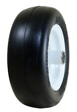 "Marathon Industries 01410P 11x4.00-5""LP-Inch Flat Free Lawn Mower Tire with S..."