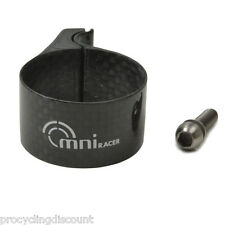 OMNI Racer FULL CARBON Derailleur Clamp Fits Campagnolo Record, Chorus 31.8-32mm