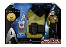 Star Trek Action Sets - Kirk and Spock with Starfleet Badge & Play Communicator