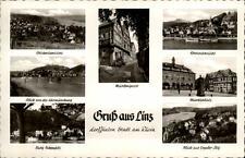 Linz am Rhein Mehrbildkarte ~1950/60 Mühlengasse Rheinansicht Marktplatz u.a.