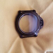 Unitas case 44mm black pvd! Fits 6497,6498 mov't!!