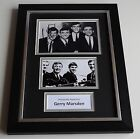 Gerry Marsden Signed A4 FRAMED photo Autograph display Pacemakers Music COA