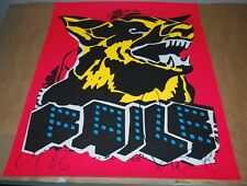 Faile 2015 Dog Black Light 1st Ed. Signed Limited Edition Print Poster
