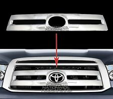 2010-2013 Toyota Tundra CHROME Snap On Grille Overlay Grill Covers Front Insert