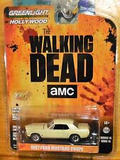 2016 Greenlight Hollywood Series 15 Walking Dead AMC 1967 Ford Mustang Coupe