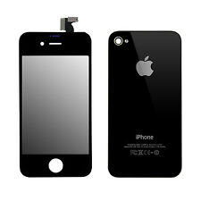 SET iPhone 4S Retina LCD Display and Backcover Replacement screen Tool Black