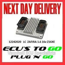 VAUXHALL /OPEL ECU ZAFIRA  ECU 1.6 PLUG N PLAY ENGINE CODE Z16XE 12242020 LC