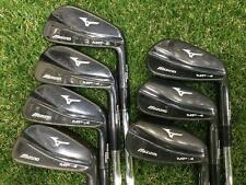 MIZUNO MP-4 Black Tour Issue 7pc S-flex Irons Set Golf Clubs