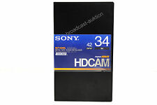 SONY HDCAM Tape BCT-34HDL  new