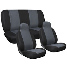 Universal 5-Seat Flat Cloth Integrated Car Seat Cover 4-Piece Set Four Seasons