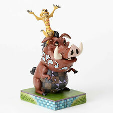 Enesco Jim Shore Disney Traditions Timon and Pumba NIB 4054281