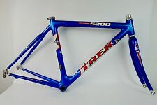 Classic 1998 Trek 5200 OCLV Carbon Frameset Frame Set Road Bike 50cm Pre-USPS
