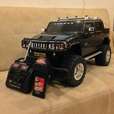 NEW BRIGHT HUMMER H2 1:6 Scale Remote Control R/C Truck BLUE 9.6V HUGE RARE!!!