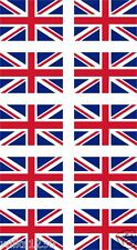 10 Union Jack decal bumper stickers car van bus bike GB Decal Graphic body panel
