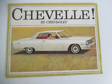 CHEVELLE! by Chevrolet 1964 Sales Book