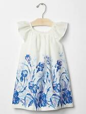 BABY GAP GIRL GARDEN BORDER FLUTTER DRESS NWT 2T M7