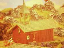 Faller H0 242 Bergkapelle im Blockhausstil mit Glockentürmchen Bausatz NEU