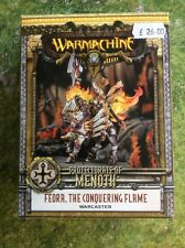 Feora, The Conquering Flame Warcaster For Protectorate Of Menoth In Warmachine