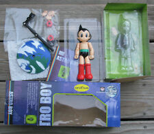 "ASTRO BOY MIGHTY ATOM 8"" DIECAST PVC JOINTED ACTION FIGURE UNIFIVE BANDAI 2001"