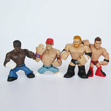 4 Of Wrestling Action Figures Mini WWE Wrestle Cute Collectiable Toy Sport Set