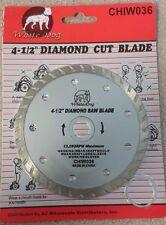 """4-1/2"""" DIAMOND CUT BLADE CHIW036"""