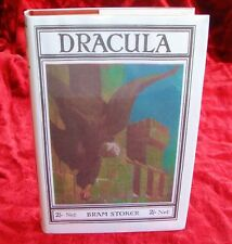 Bram Stoker - Dracula with Bonus Items - First Printing 1912 [Rider Edition]