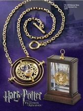 Hot Harry Potter Time Turner Necklace Hermione Granger Rotating Gold Hourglass