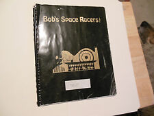 BOB'S SPACE RACERS water game   original arcade videoi game manual