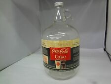 Vintage Coca Cola Coke Syrup Glass Bottle 1-Gallon Original Paper Label G-464
