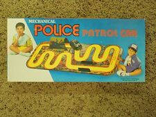 Mechanical Police Patrol Car Wind Up Toy Replica W/ Box From Lucky Toys India