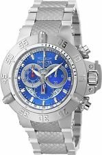 90123 Invicta 50mm Subaqua Noma III Swiss Quartz Chronograph SS Bracelet Watch