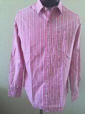NWT Men's Tommy Hilfiger Classic Fit 100% Cotton Casual Dress shirt