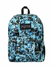 Jansport Superbreak Backpack T501 - Multi Blue Ice 100% Authentic School Books