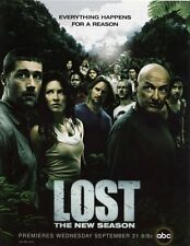 POSTER LOST JJ ABRAMS MATTHEW FOX EVANGELINE LILLY JOSH HOLLOWAY LOCANDINA #3