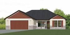 52x54 House -- PDF Floor Plan -- 1,735 sq ft -- Model 1B