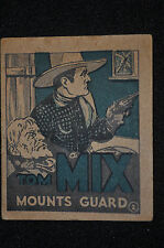 Tom Mix Mounts Guard Adventure Stories #2 National Chicle Gum - (1934) ITB WH
