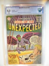 TALES OF THE UNEXPECTED # 1. GRADED CBCS 5 , CERTIFIED UNRESTORED