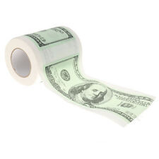 One Hundred Dollar Bill 100 Toilet Paper Money Roll Gag Joke Novel Gift