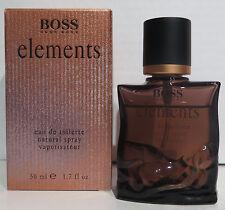 HUGO BOSS elements 50ml EdT Eau de Toilette Spray NEU/OVP