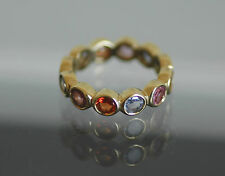 $2400 Temple St. Clair 18K Sapphire Eternity Ring (sold out)