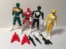 MMPR Mighty Morphin Power Rangers 2010 Figures Hero Power Pack Set Bandai