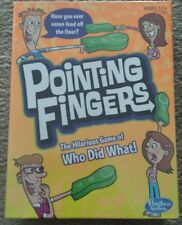Pointing Finger Game By Hasbro Age12+ For 3-6 Players Indoor Card Game SALE