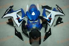 Fairing Kits fit for Suzuki gsxr600/750 06-07 2006 2006 white and blue color ABS