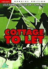 Cottage To Let - DVD NEW & SEALED - Leslie Banks, Alastair Sim, John Mills